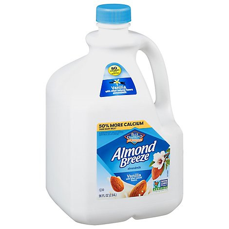 Almond Almond Breeze Milk Vanilla - 96 Fl. Oz.