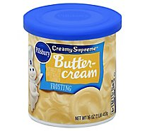 Pillsbury Creamy Supreme Frosting Buttercream - 16 Oz
