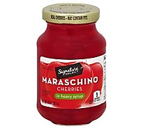 Signature SELECT Cherries Maraschino - 10 Oz