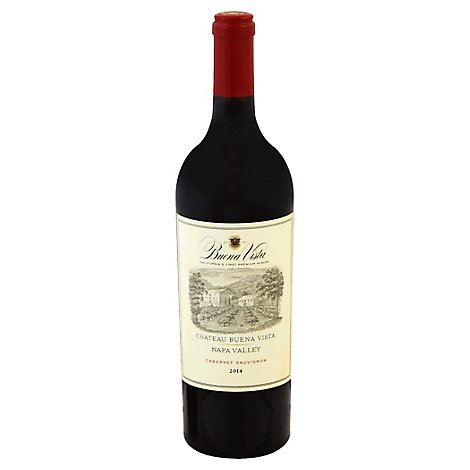 Buena Vista Wine Red Cabernet Sauvignon Napa Valley - 750 Ml