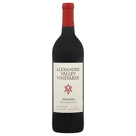 Alexander Valley Vineyards Estate Zinfandel Wine - 750 Ml