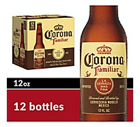 Corona Familiar Mexican Import Beer Bottles 4.8% ABV - 12-12 Fl. Oz.