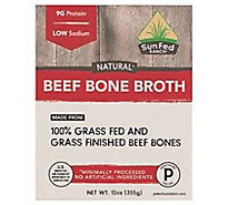 Sunfed Ranch Beef Bone Broth - 12 Oz