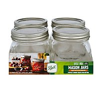 Ball Elite Jars Cont Wm 16z - 4 Count