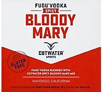 Cutwater Spicy Bloody Mary Rtd - 4-12 Fl. Oz.