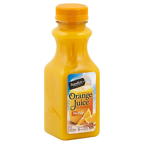 Signature SELECT Juice 100% Premium Orange Chilled - 12 Fl. Oz.
