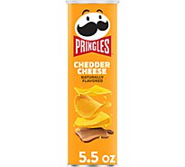 Pringles Potato Crisps Chips Cheddar Cheese - 5.5 Oz