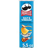 Pringles Potato Crisps Chips Salt & Vinegar Flavored - 5.5 Oz