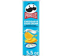 Pringles Potato Crisps Chips Cheddar & Sour Cream - 5.5 Oz