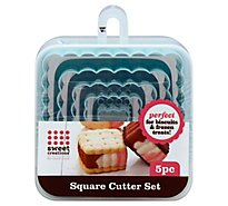 Signature Cafe Square Nested Cutter - Each