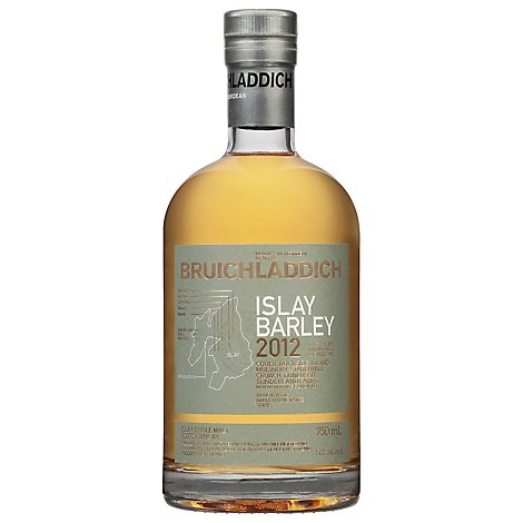 Bruichladdich Single Malt Barley 6 Year Scotch - 750 Ml