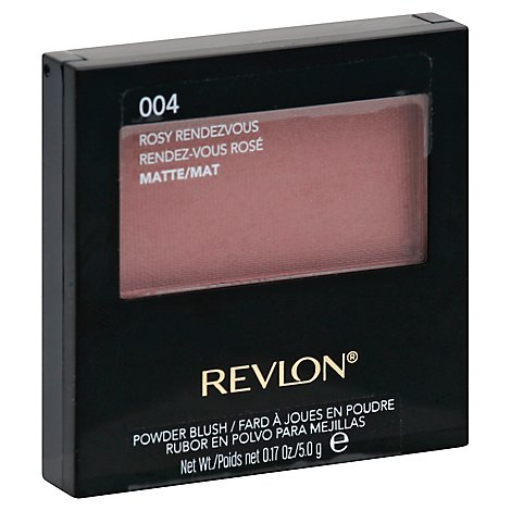 Revlon Powder Blush Matte Rosy Rendevous 004 - 0.17 Oz