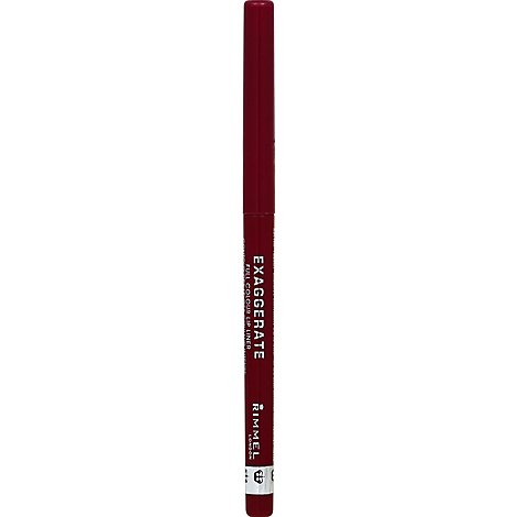Rimmel Exaggerate Lip Liner Full Colour Under My Spell 105 - 0.008 Oz