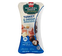 Hormel Natural Choice Oven-Roasted Turkey Breast & Mild White Cheddar Cheese - 2 Oz