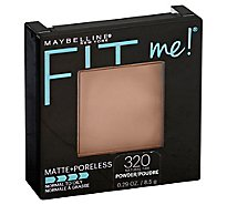 Maybelline Fit Me Matte+Poreless Powder Natural Tan 320 - 0.29 Oz