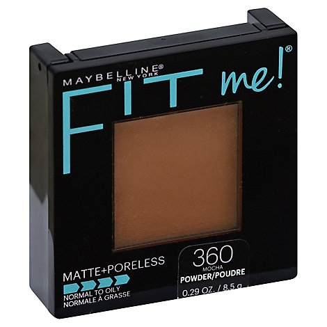 Maybel Fitmeporeless Matte Pwd Mocha - 0.3 Oz