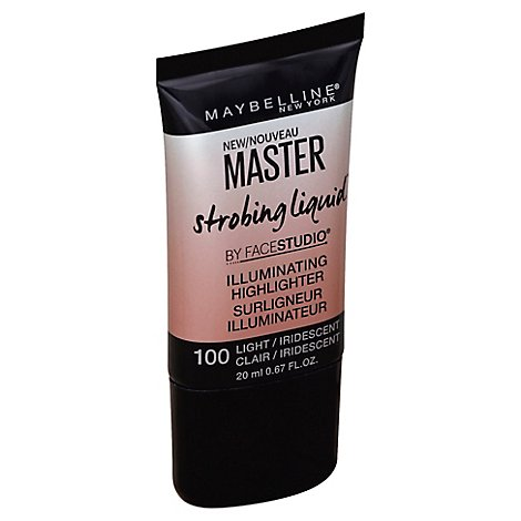 Maybelline FaceStudio Master Strobing Liquid Light 100 - 0.67 Fl. Oz.