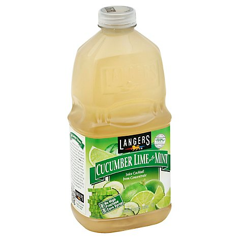 Langers Cucumber Lime with Mint - 64 Oz