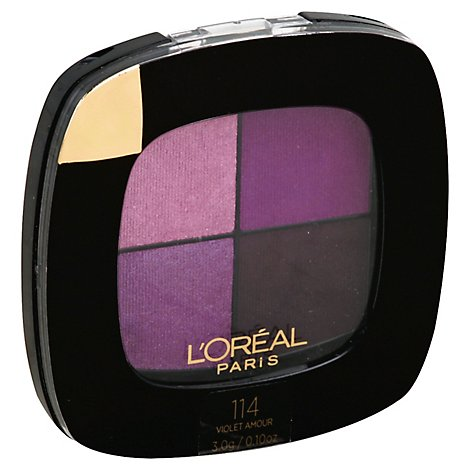 Loreal Clr Rch Shad Quads Violet Amr - Each