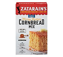 Zatarains New Orleans Style Cornbread Mix Honey Butter - 12.5 Oz