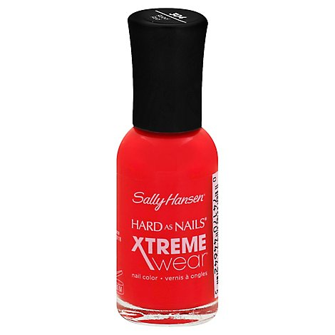 Sally Hansen Hard as Nails Xtreme Wear Nail Color Rebel Red 304 - 0.4 Fl. Oz.