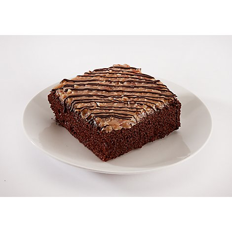 Bakery Cake Chocolate Cube With Ghirardelli - Each
