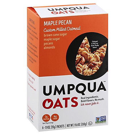 Umpqua Oats Maple Pecan Harvest - 6-1.9 Oz