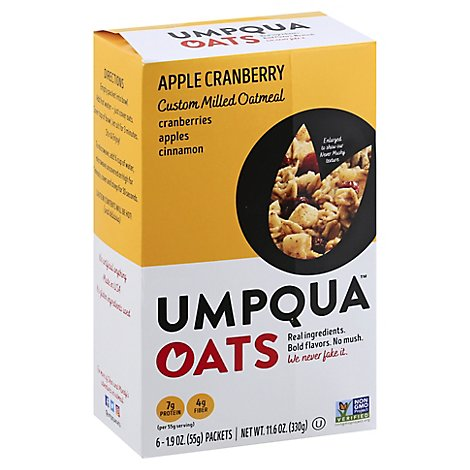 Umpqua Oats Apple Cranberry - 6-1.9 Oz