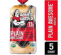 Daves Killer Bread Bagel Organic 5 Count - 16.75 Oz