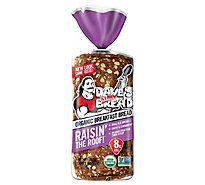 Daves Killer Bread Organic Cinnamon Raisin The Roof - 18 Oz