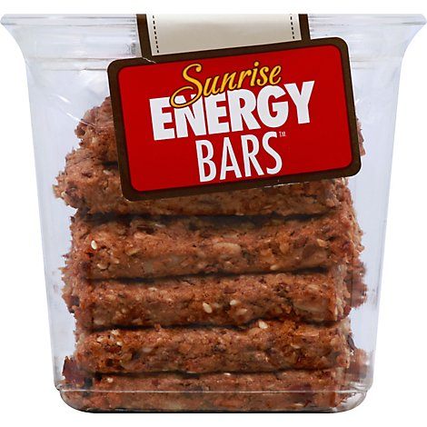 Sunrise Bars Energy Nat - 10 Oz