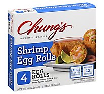 Chungs Egg Rolls Shrimp - 8 Oz