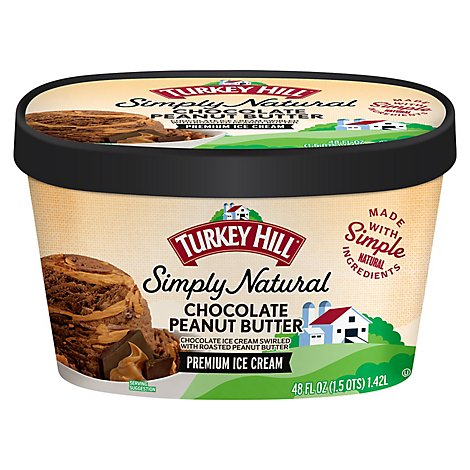 All Natural Chocolate Peanut Butter - 48 Fl. Oz.