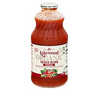 Lakewood Organic Juice Fresh Blends Super Veggie - 32 Fl. Oz.