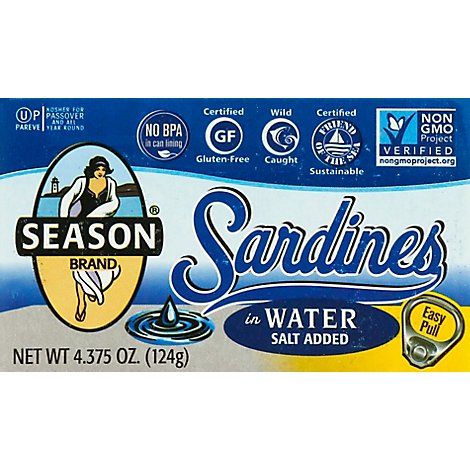 Season Sardine Club Wtr - 4.375 Oz
