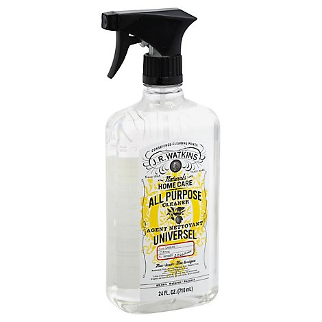 J.R. Watkins Home Care All Purpose Cleaner Lemon Scent - 24 Fl. Oz.