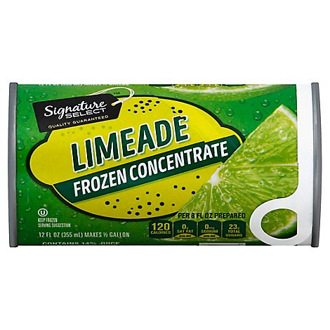 Signature SELECT/Kitchens Frozen Concentrate Limeade - 12 Fl. Oz.