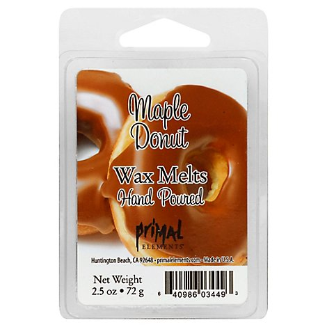 Pe Maple Donut Wax Melt - 2.5 Oz