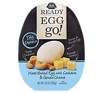 Crystal Farms Ready Egg Go with Cashews & Gouda Cheese - 3.75 Oz