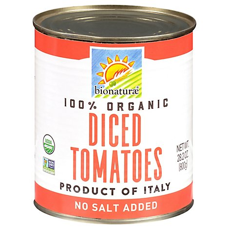 bionaturae Organic Tomatoes Diced - 28.2 Oz