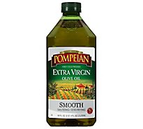 Pompeian Olive Oil Extra Virgin Smooth - 68 Fl. Oz.