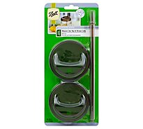 Ball Mason Jars Sip & Straw Lids - 2 Count