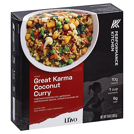 LUVO Planted Power Bowl Great Karma Coconut Curry - 10 Oz