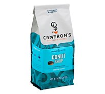 Camerons Coffee Coffee Handcrafted Ground Beans Donut Shop - 10 Oz