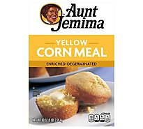 Aunt Jemima Corn Meal Yellow Enriched-Degerminated - 80 Oz