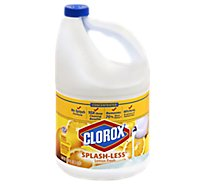 Clorox Bleach Concentrated Splash Less Lemon Fresh Jug - 116 Fl. Oz.