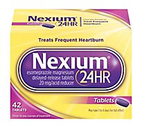 Nexium Acid Reducer Tablets 24HR 20 mg Delayed-Released - 42 Count