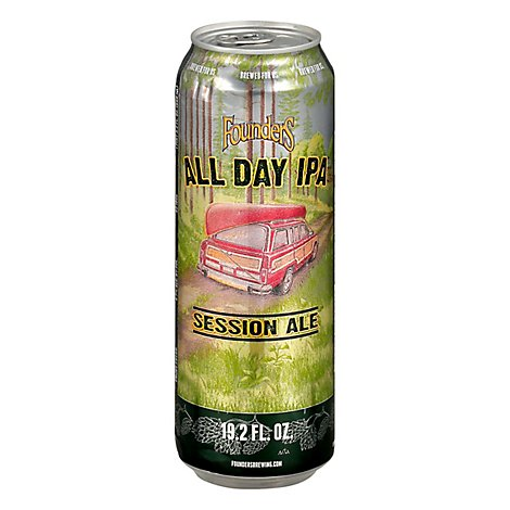 Founders Brewing Co. Year-Round Beer All Day IPA Can - 19.2 Fl. Oz.