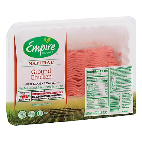 Empire Chicken Ground Chicken - 16 Oz