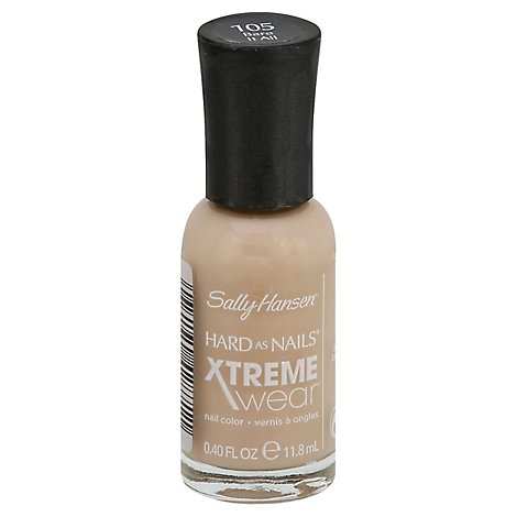 Sally Hansen Hard as Nails Xtreme Wear Nail Color Bare It All 105 - 0.4 Fl. Oz.